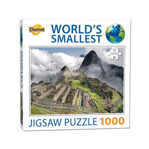 Världens minsta pussel (1000 bitar) - Machu Picchu
