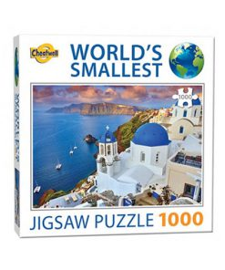 Världens minsta pussel (1000 bitar) - Santorini Island