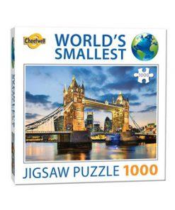 Världens minsta pussel (1000 bitar) - Tower Bridge